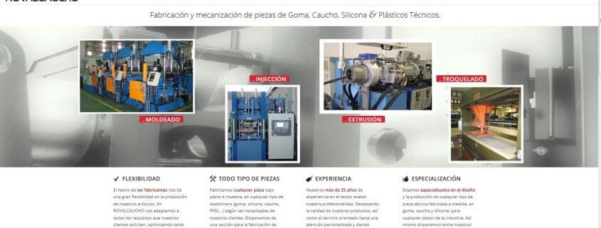 lanzamiento web rovalcaucho.com