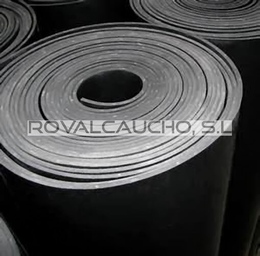 planchas goma industria