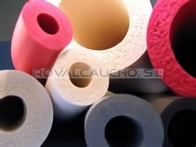 tubos industria caucho